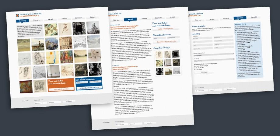 Bauhaus.Weimar.Moderne – Die Kunstfreunde e.V. – Online
