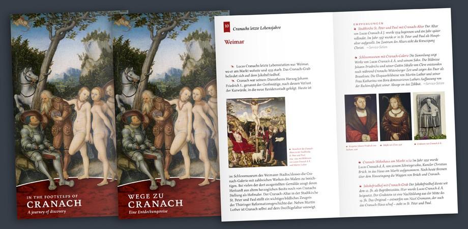 Wege zu Cranach – Broschur