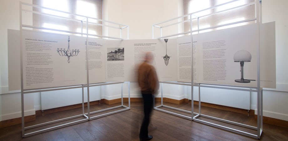 Blick in die Ausstellungsräume im Neuen Museum Weimar