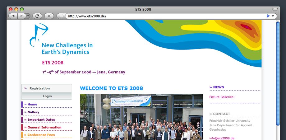 ets 2008 Webseite
