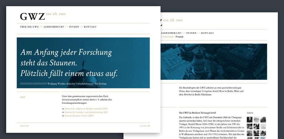 GWZ Berlin Website 2012