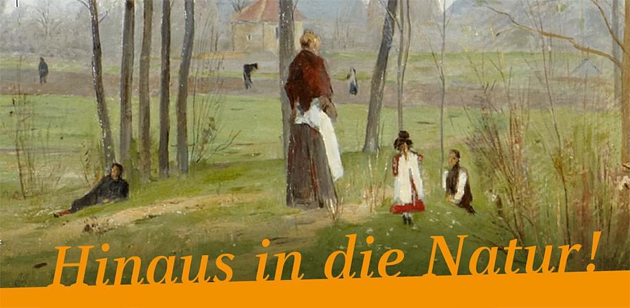 Hinaus! – Ausstellung Weimarer Malerschule
