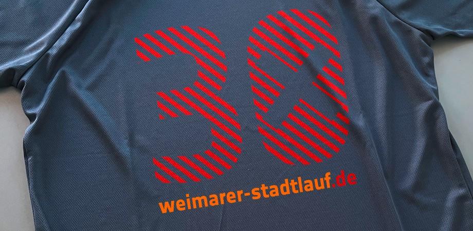 Stadtlauf Weimar 2021 · Erscheinungsbild · Goldwiege