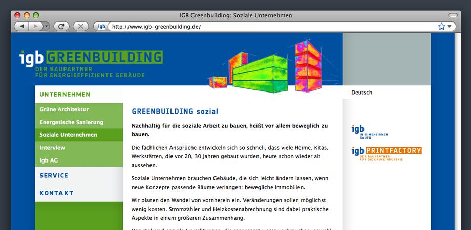 igb Greenbuilding Website