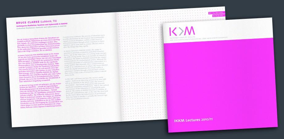 IKKM Lectures – Programmheft