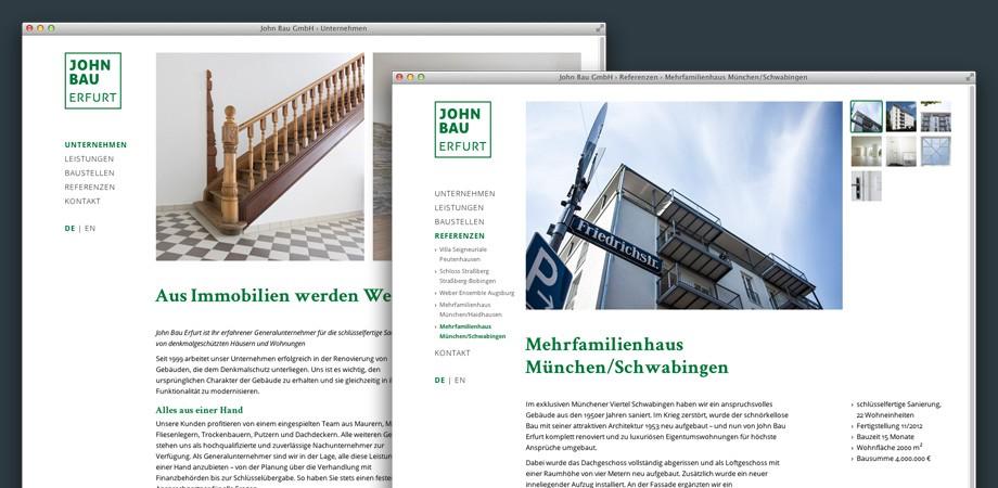 Johnbau Erfurt Website2013