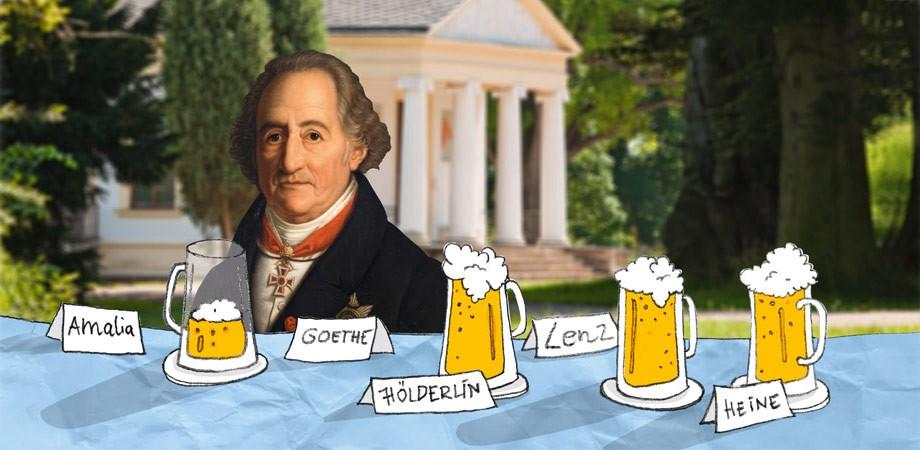 Motiv für Goethe-Geburtstag 2013