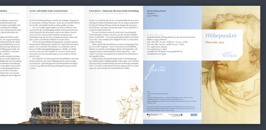 Klassik Stiftung Weimar – Höhepunkte 2012