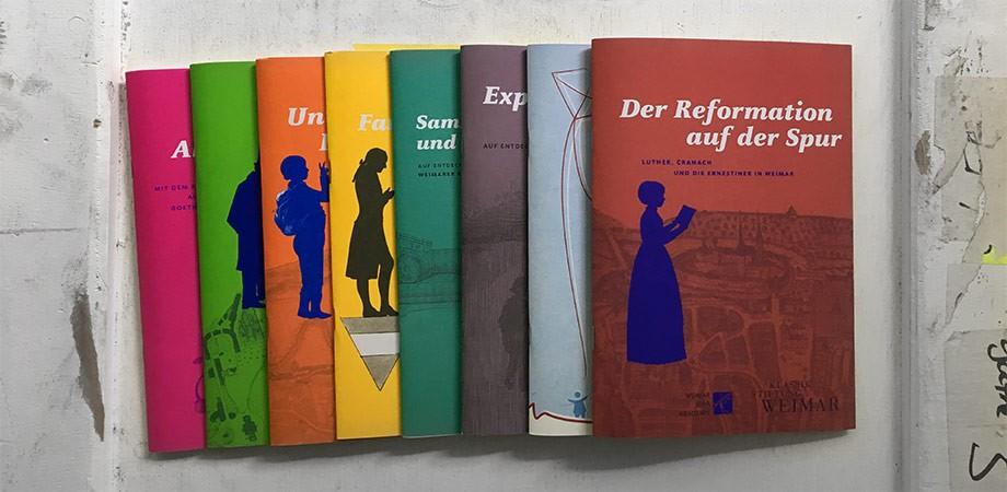 Rucksacktouren der Klassik Stiftung Weimar von Goldwiege