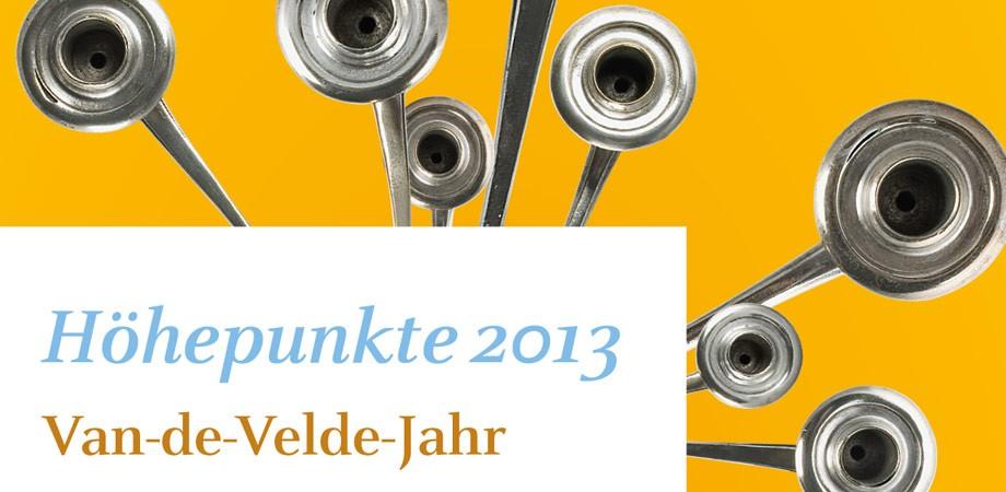 Höhepunkte-Flyer Klassik Stiftung Weimar2013