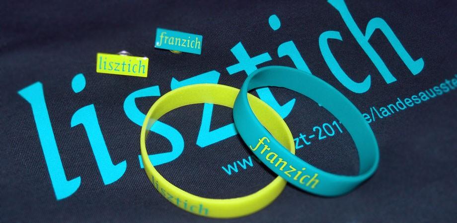 Liszt 2011 – Merchandising für die Landesausstellung
