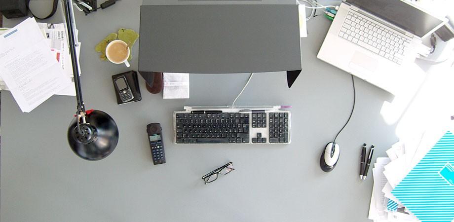 Markus' Schreibtisch