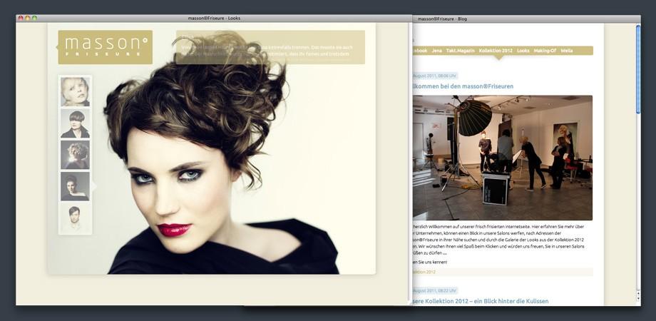 masson®Friseure – Website 2011
