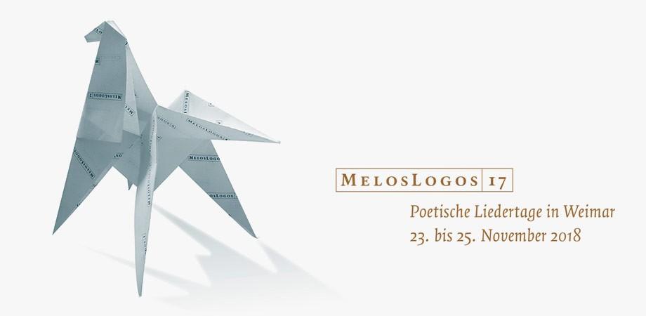 MelosLogos 2018 – das letzte Programmheft seiner Art