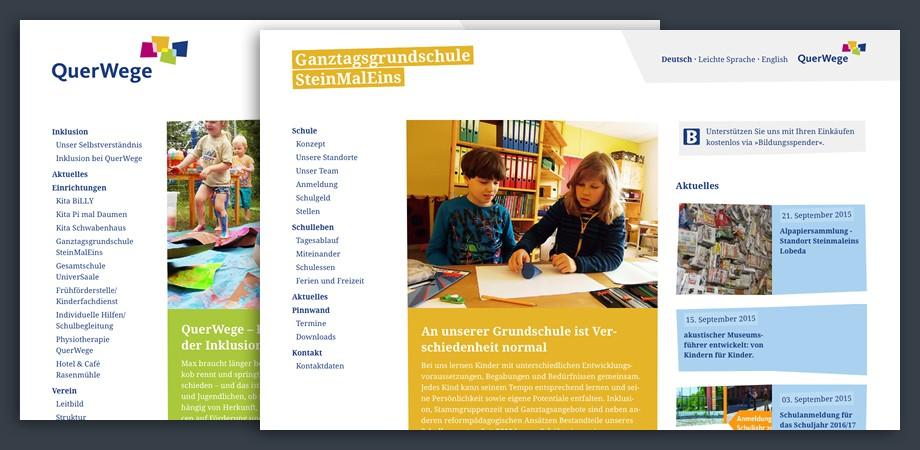 Querwege Website 2015