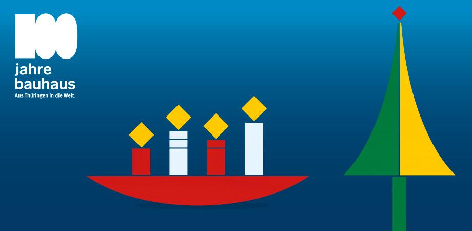 Motiv der Weihnachtskarte der Thüringer Staatskanzlei 2018