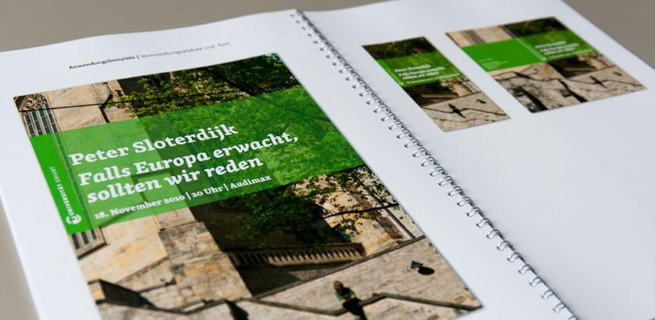 Universität Erfurt – Corporate Design Konzept