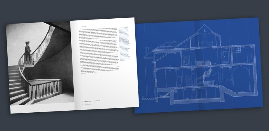 Van de Velde-Bau Weimar – Buch – Doppelseiten