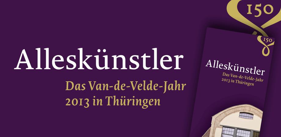 Das Van-de-Velde-Jahr 2013 in Thüringen