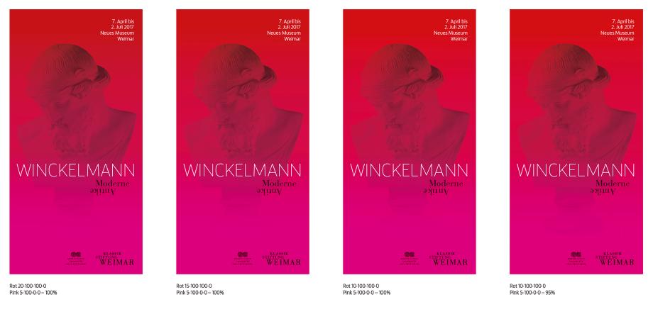 Ausstellung Winckelmann 2017 · Klassik Stiftung Weimar · Proof für ITB-Flyer