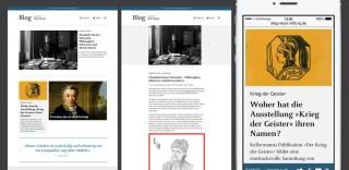 Klassisches Blog