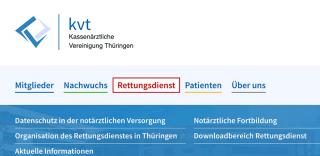 Onlineportal KV Thüringen